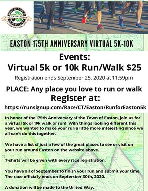 Easton 5K Fun Run