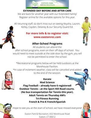 Ext Day & After-School Programs