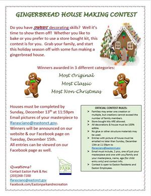 Gingerbread House Making Contest