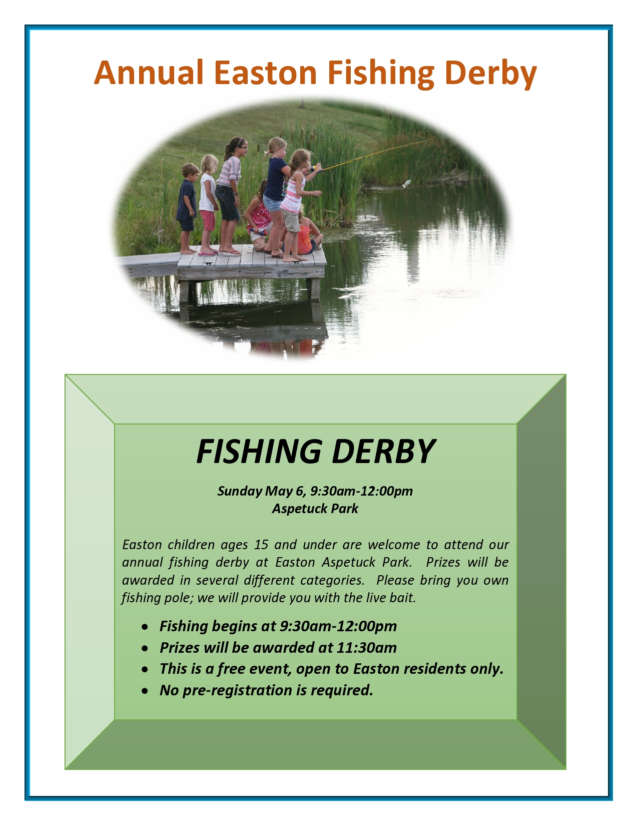 Easton Fishing Derby