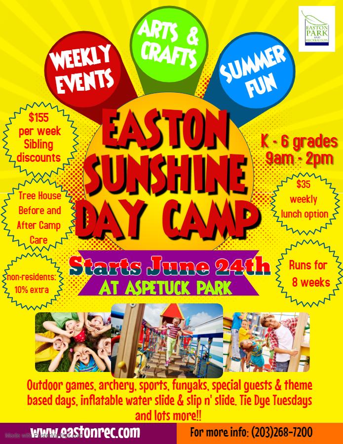 Sunshine Day Camp!